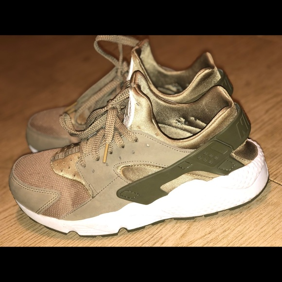 new concept 84674 8218d Nike Huaraches Olive Green Men's 10 - 18429-200
